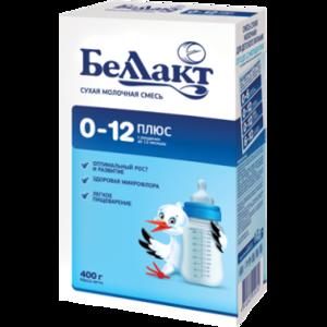 Детская молочная смесь Беллакт 0-12 плюс  фото