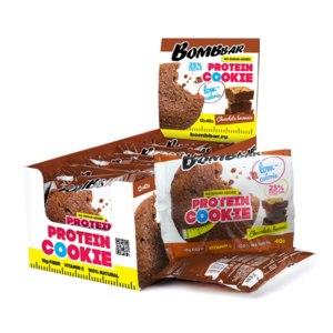 Протеиновое печенье Bombbar Шоколадный брауни фото
