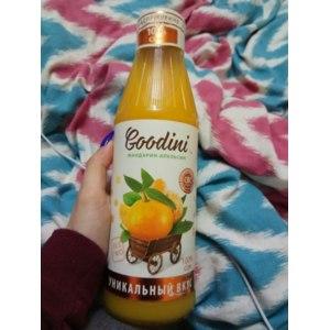 Сок АО МПБК Очаково Goodini мандарин-апельсин фото