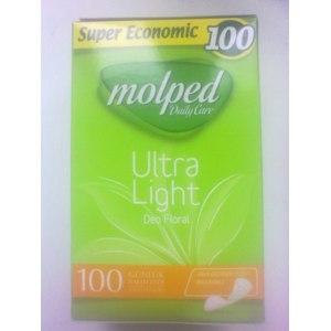 Прокладки ежедневные Molped Ultra Light Deo Floral фото