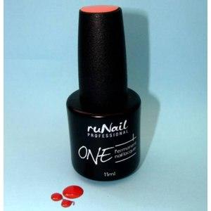 Гель-лак для ногтей RuNail Перманентный лак ONE фото