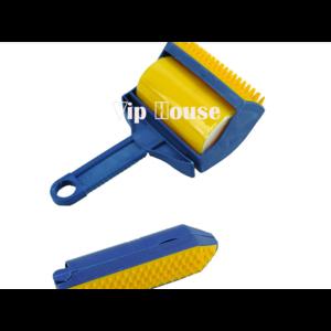 Ролик для удаления пыли и ворса Aliexpress New Reusable Sticky Roller Remover Picker Clothes Fluff carpet cleaner Lint Roller Furniture Clothes Pet Hair Brush TK0712 фото