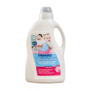 Эко гель для стирки всех видов тканей Organic People С органическим экстрактом лотоса Super Fresh фото