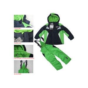 Верхняя одежда AliExpress Phibee new 2014 free shipping high quality baby children ski suit snowboard jacket and pants winter clothing set -20degree фото