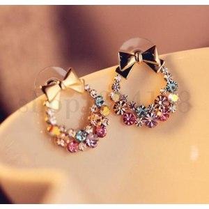 Серьги   Fashion Hot Cute Sweet Lovely Women's Earrings Ear Stud фото