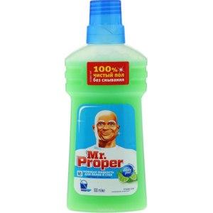 Моющее средство для пола и других поверхностей Mr.Proper Бодрящий лайм и мята фото