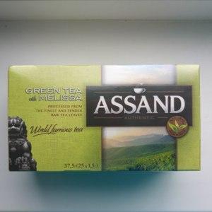 Чай Assand Green Tea with Melissa фото