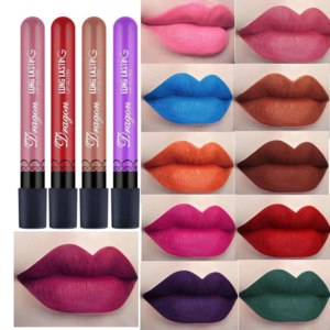 Жидкая матовая помада Aliexpress New 36 color matte lip gloss beauty waterproof lipstick velvet lipstick professional makeup lip gloss фото