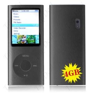 "MP3-плеер TinyDeal 4GB 2.0"" TFT Screen MP4 Player+ Camera+WD05-4G фото"