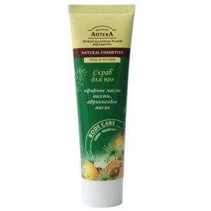 Скраб для ног Зеленая аптека Эфирное масло пихты, абрикосовое масло фото
