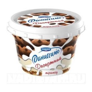 Йогурт Danone Даниссимо десертный Тирамису фото