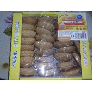 Печенье сдобное Тортугалия кунжутное фото