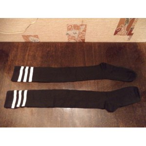 Чулки Tinydeal Casual Knit Striped Women's Socks & Stockings DST-261646 фото