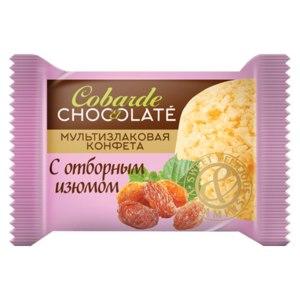 Конфеты ООО «В.А.Ш. ШОКОЛАТЬЕ+» Co barre de Chocolat Мультизлаковые с отборным изюмом фото