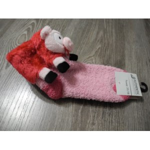 Носки женские  AUTHENTIC Clothing Company  с игрушками «Розовая свинка» (арт.:273995) фото