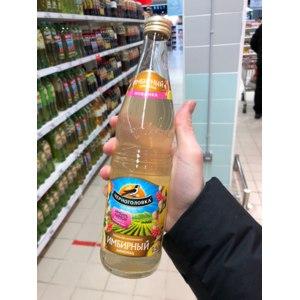 Безалкогольный газированный напиток Черноголовка Имбирный лимонад фото