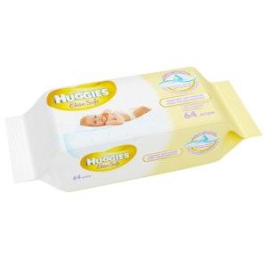Влажные салфетки Huggies Elite Soft фото