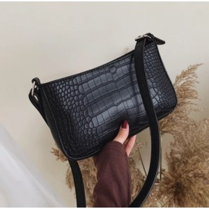 Сумка Женская Aliexpress Messenger Handbags Retro Alligator Pattern Women shoulder bags Flap New PU Leather Casual Solid crossbody bags for women Bolsas фото