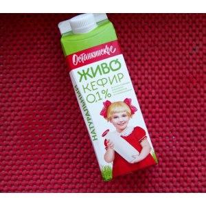 Кисломолочные продукты   Живо кефир 0.1% Останкинское фото