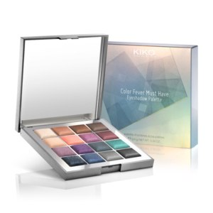 Тени для век KIKO Color Fever Must Have Eyeshadow Palette - 02 Elegant Tones  фото