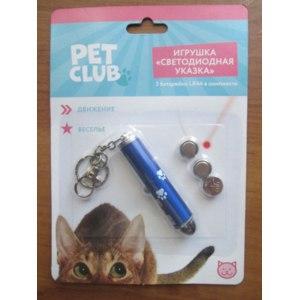 "Игрушка ""Светодиодная указка"" Pet Club Fix Price фото"