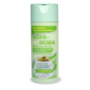 Шампунь Floresan Кера-Нова для волос жирных у корней и сухих на кончиках фото