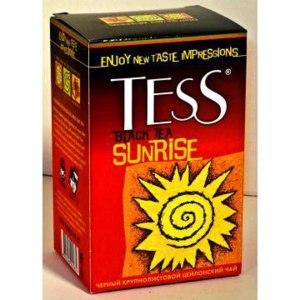 Чай  Tess Sunrise фото
