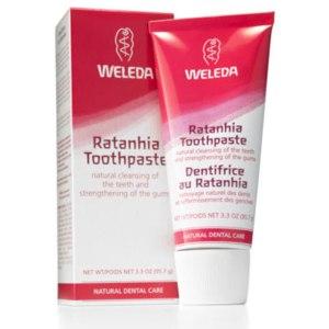 Зубная паста Weleda С ратанией фото