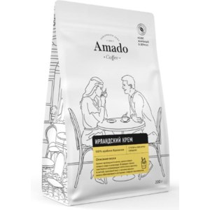 Кофе Amado арабика ароматизированный в зернах Ирландский крем фото