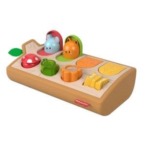 Развивающая игрушка Fisher-Price Прятки со зверятами (GJW24) фото