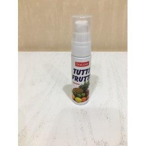 Оральный гель-смазка Биоритм Tutti-frutti  фото