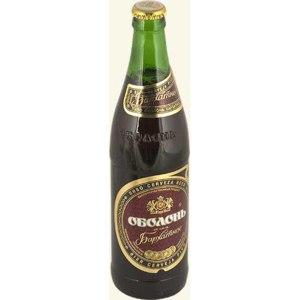 Пиво Оболонь Бархатное фото