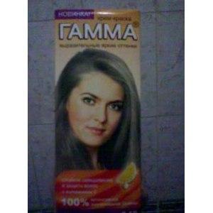Краска для волос Гамма 100% цвета фото