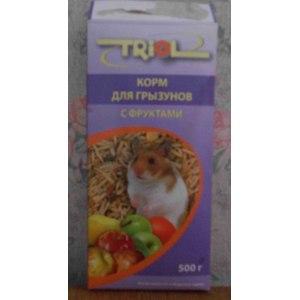 <b>Корм</b> для грызунов <b>TRIOL</b> с фруктами   Отзывы покупателей