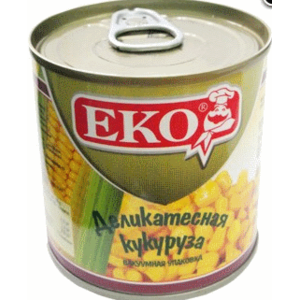 Кукуруза в вакуумной упаковке Еко Деликатесная фото