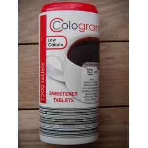Заменитель сахара Cologran Low Calorie Sweetener Tablets / Низкие Калории в Таблетках фото