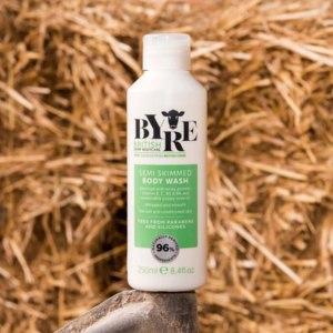 Гель для тела Byre British Dairy Bodycare Semi-Skimmed Wash фото