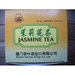 "Чай зелёный в пакетиках Sea Dyke Brand ""Xiamen"" Tea Imp. & Exp. Co. Jasmine (Art. No. XJT 501) / ""Хиамен"" Импорт Экспорт Жасминовый фото"