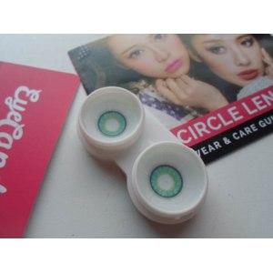 Контактные линзы цветные, увеличивающие глаза  Neo Shimmer Aqua фото