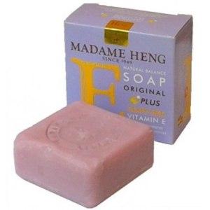 Натуральное мыло Madame Heng с витамином Е и экстрактом косточки винограда фото