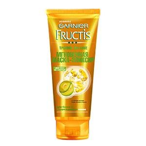 Мгновенная маска-эликсир Garnier Fructis Тройное питание для сухих и поврежденных волос фото