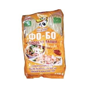 Рисовая лапша Yummy! Yummy! Фо-бо для приготовления вьетнамского супа фо-бо и тайского вока пад-тай фото