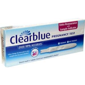 Тесты на беременность Clearblue фото