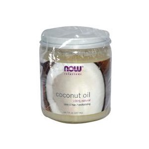 Масло кокосовое Now Foods 100% фото