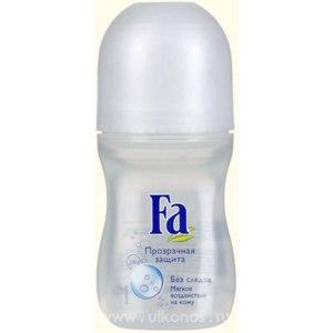 Дезодорант-антиперспирант Fa Прозрачная защита роликовый фото