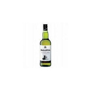 Виски Black & white шотландский купажированный виски фото