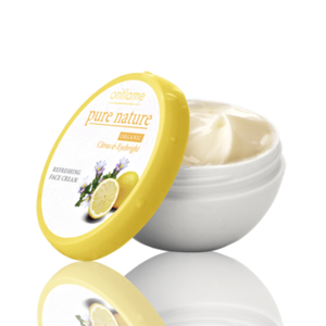 Крем для лица Oriflame Pure Nature Organic Citrus & Eyebright Refreshing Face Cream / «Лимон и очанка» фото