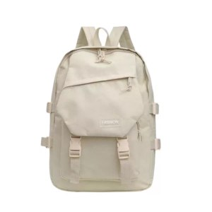 Рюкзак женский Aliexpress Korean Style Nylon Backpack Large Capacity Travel Bag for Junior High School Students Preppy Style Campus Solid Color Men's and фото