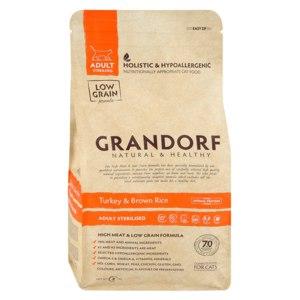 Корм для кошек Grandorf Turkey & Brown Rice Adult Sterilized индейка с рисом фото