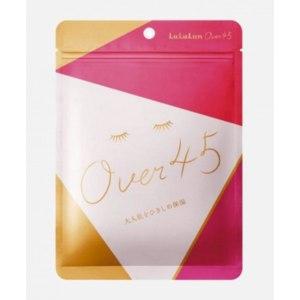 Тканевая маска для лица Lululun Over 45 Pink Camellia /упругость и увлажнение для зрелой кожи  фото